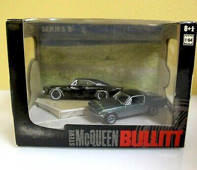 Steve McQueen BULLITT Greenlight Diorama Series 2 1:64 Charger Mustang