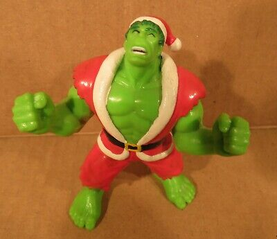 """Incredible Hulk Suit (1991 INCREDIBLE HULK IN SANTA SUIT 3.5"""" PVC FIGURE MARVEL COMICS)"""