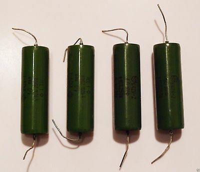 4x Metal-paper Pio Audio Capacitor 1uf- 250v. New Made In Ussr