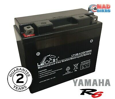 <em>YAMAHA</em> YZF R6 NEW FACTORY SEALED AGM MAINTENANCE FREE GEL BATTERY 1999
