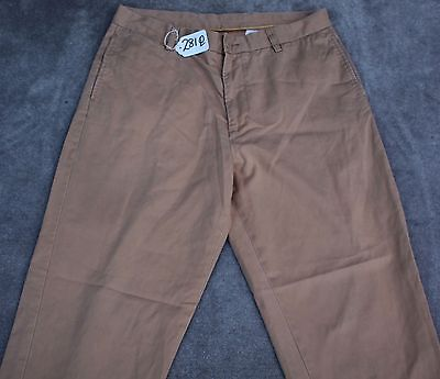 NAUTICA KHAKI Pants For Men SIZE - W35 X L32. TAG NO. 281Q