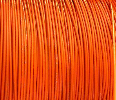 Orange 28 Awg Gauge Stranded Hook Up Wire 500 Ft Reel Ul1007 300 Volt