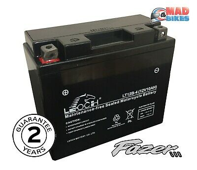 <em>YAMAHA</em> FZS600 FAZER FACTORY SEALED AGM MAINTENANCE FREE GEL BATTERY 19