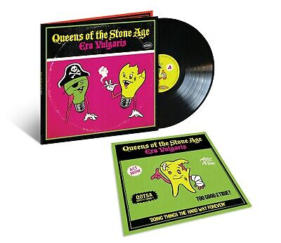 Queens Of The Stone Age Era Vulgaris LP 2019 180G Vinyl Edition New/Official