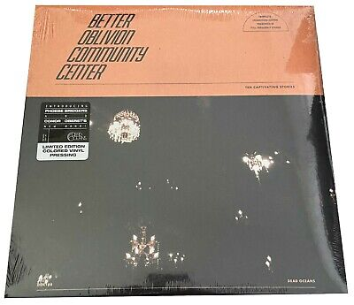 Better Oblivion Community Center - Self Titled ORANGE Vinyl LP (Phoebe Bridgers)