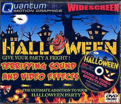TERRIFYING SOUND & VIDEO EFFECTS: VIRTUAL HALLOWEEN FULL-MOTION WIDESCREEN DVD!!](Virtual Halloween)