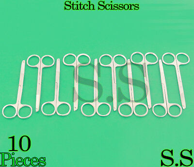 10 O.r Spencer Stitch Suture Scissors 4.5 Surgical Instrument