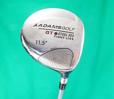 ADAMS Golf GT Steel 303 Tight Lies 11.5° driver SENIOR flex graphite RH Adams Tight Lies Golf