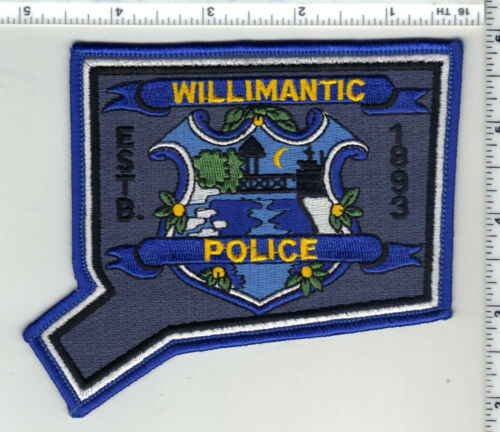 Willimantic Police (Connecticut) 6th Issue Shoulder Patch