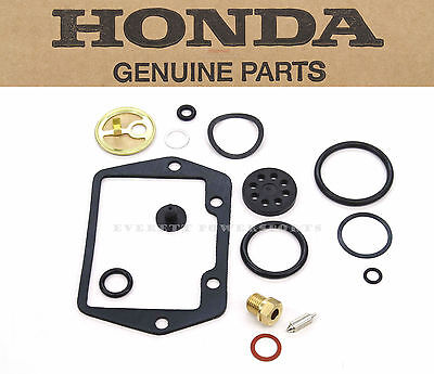 Genuine Honda Carb Rebuild Kit & Float Valve CT90 CT70 ST90 Trail Carburetor E52