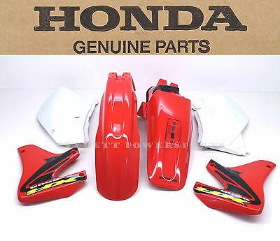Plastic Body Kit Set 00-07 XR650R Fenders Panels Shrouds Genuine Honda #S90