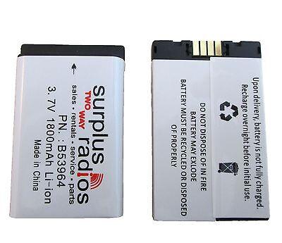 New Li-ion High Capacity Battery For Motorola Dtr410 Dtr550 Dtr650 53964
