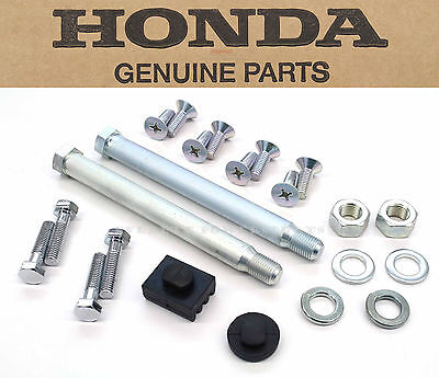 New Exhaust Hardware Kit 1969-76 CB750K OEM Honda Washers Bolts Rubbers    #P41