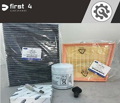 NEW GENUINE FORD FIESTA ECOBOOST 1.0L 2012> SERVICE KIT WITH ALL FILTERS SV36
