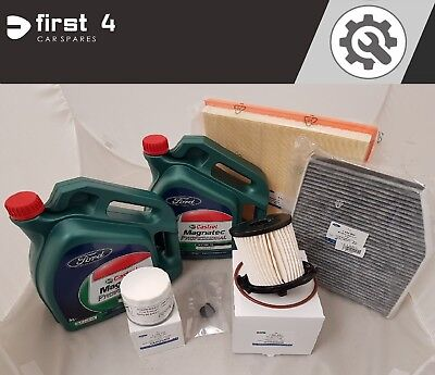 GENUINE FORD TRANSIT CUSTOM 2012> FULL SERVICE KIT INC. OIL AND ALL FILTERS SV12