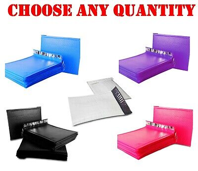 0 6x10 Poly Bubble Mailers Shipping Mailing Padded Bag Envelopes Color 6 X9