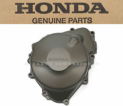 Genuine Honda Left Engine Case 99-06 CBR600F4 F4i Stator Alternator Cover #S36 ()