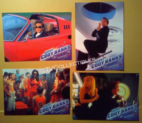 Lobby Card Lot~ AGENT CODY BANKS ~2003 ~Frankie Muniz ~Hilary Duff ~Angie Harmon