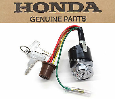 New Genuine Honda Ignition Key Switch 1972-1976 CT70 CT70H TRAIL 70 OEM #S10