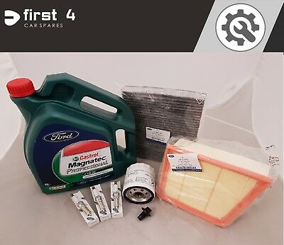 NEW GENUINE FORD FIESTA ECOBOOST 10L 2012 SERVICE KIT OIL AND ALL FILTERS