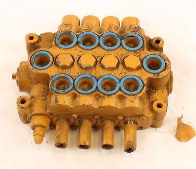 New E89d509 Husco 4 Spool Hydraulic Valve