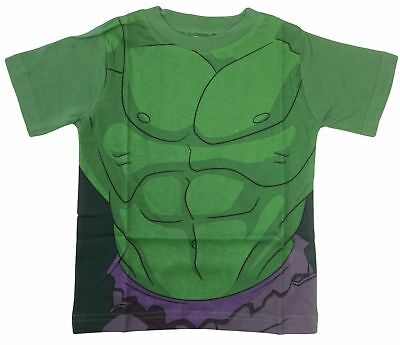 Marvel Avengers Incredible Hulk Fancy Dress up Costume Kids T Shirts (Avengers Dress Up)