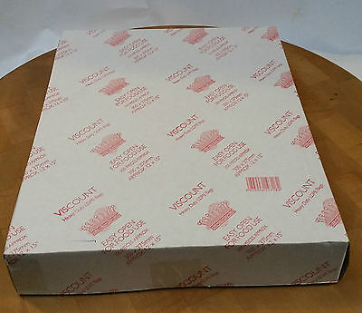 Viscount Clear Poly Bags 12x15 400g For Food Storage Packing & Food Freezing 250
