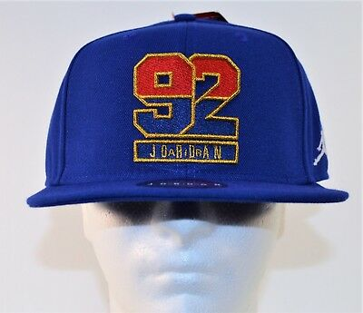 6f0cdebabed91a Nike Air Jordan AJ 7 1992 USA Dream Team Snapback Unisex Hat Cap 823526 455  NEW