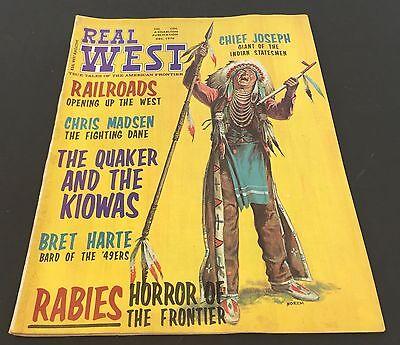(Vintage WILD WEST Magazine ~ REAL WEST ~ December 1970~ )