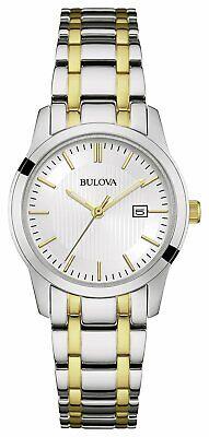 Bulova Ladies' Two Tone Stainless Steel Bracelet Watch
