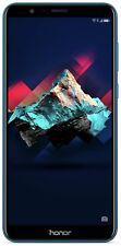 Sim Free Huawei Honor 7X 5.93 Inch 1080p Full HD 64GB 4G 16MP Mobile Phone- Blue