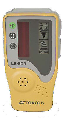 Topcon Ls-80a Rotating Laser Level Detector Without Clamp