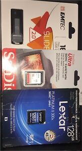 USB flash,cards & SD he cards,