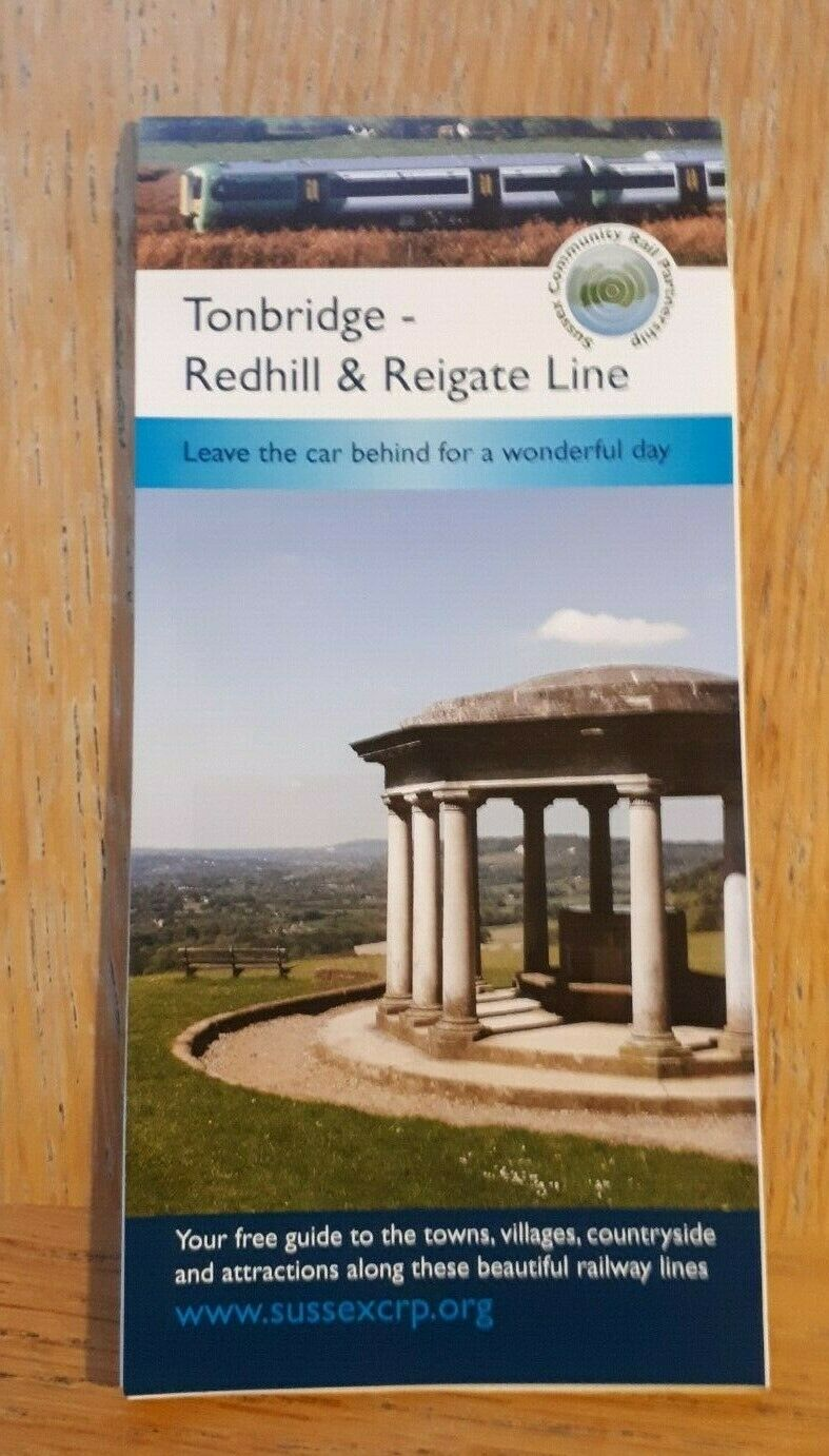 Southern /Sussex CRP Line Guide: Tonbridge-Redhill 2018