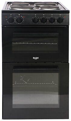 Bush BETAW50B 50cm Double Electric Cooker - Black