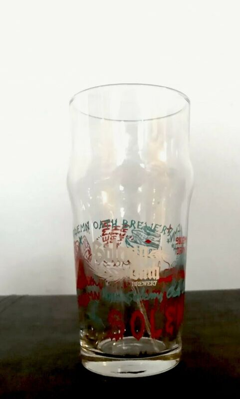Solemn Oath Brewery Rare Beer Glass