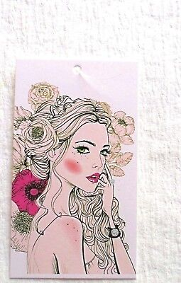100 Clothing Tags Accessories Tags Flower Girl Price Tags With 100 Plastic Loop