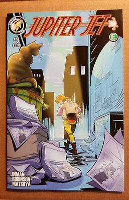 Jupiter Jet  3 1St Print Action Lab Comics Unread High Grade 9 4 9 6 Vhtf