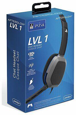 Afterglow LVL1 Communicator PS4 Headset - Black