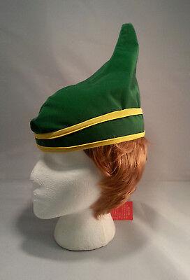 Green Elf Hat (Green Elf Hat Christmas Holiday Fun Hat Santas Helper Child to Teen )