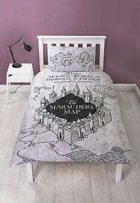 Harry Potter Marauders Map Bedding Set - Single