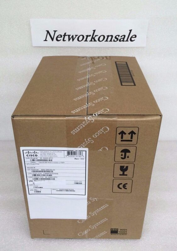 Ie-3000-8tc Cisco Industrial Ethernet 3000 Series Switch - 8 Port - *brand New*