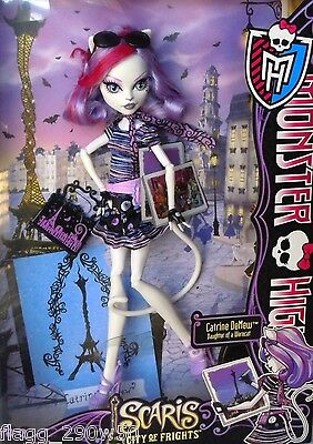 *Monster High* SCARIS CATRINE DEMEW DOLL SET- City of Frights!! on Rummage