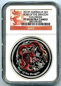 2012-P-AUSTRALIA-1-OZ-YEAR-OF-THE-DRAGON-SILVER-NGC-PF69-LUNAR-COLORIZED-PROOF