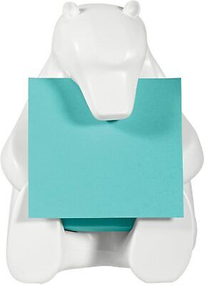 Post-it Pop Up Notes With White Polar Bear Dispenser 3x3 45 Sheets