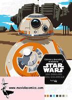 Colorea Y Descubre El Misterio De Star Wars - star wars - ebay.es