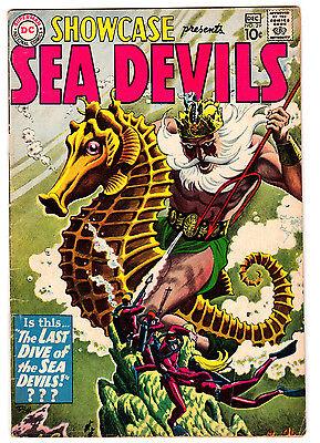 SHOWCASE #29 5.0 OFF-WHITE PAGES SILVER AGE SEA DEVILS