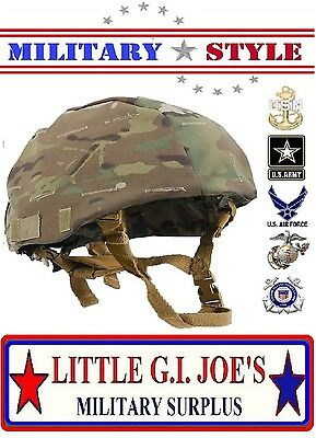 New Multicam Camouflage MICH Tactical Military Style Helmet Cover Rothco 9629