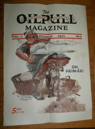The Advance Rumely Oilpull Magazine, Vol. 3, March/1925, No.2