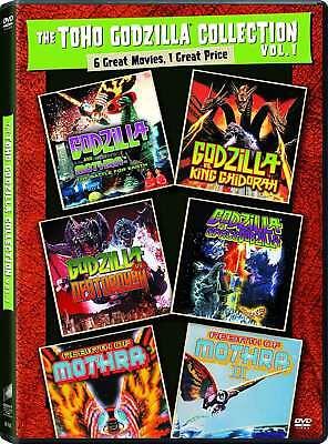 NEW -Toho Godzilla Collection Vol. 1 [3-DVDs] 6 Films - Mothra King Destroyah